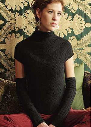 Icelandic Turtleneck from Crochet Me edited by Kim Werker